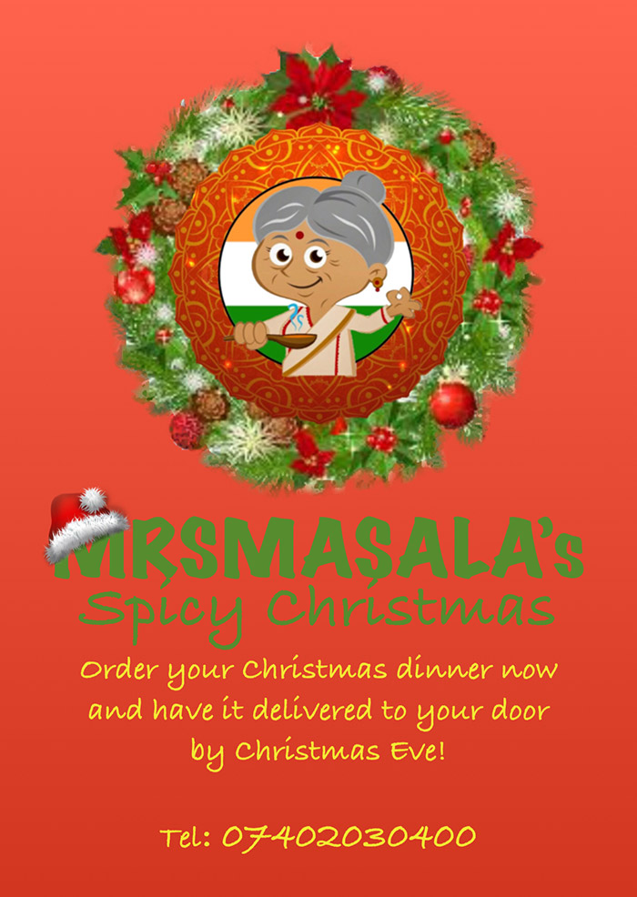 Mrs Masala's Spicy Christmas