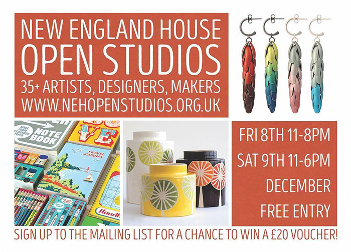New England House open studios