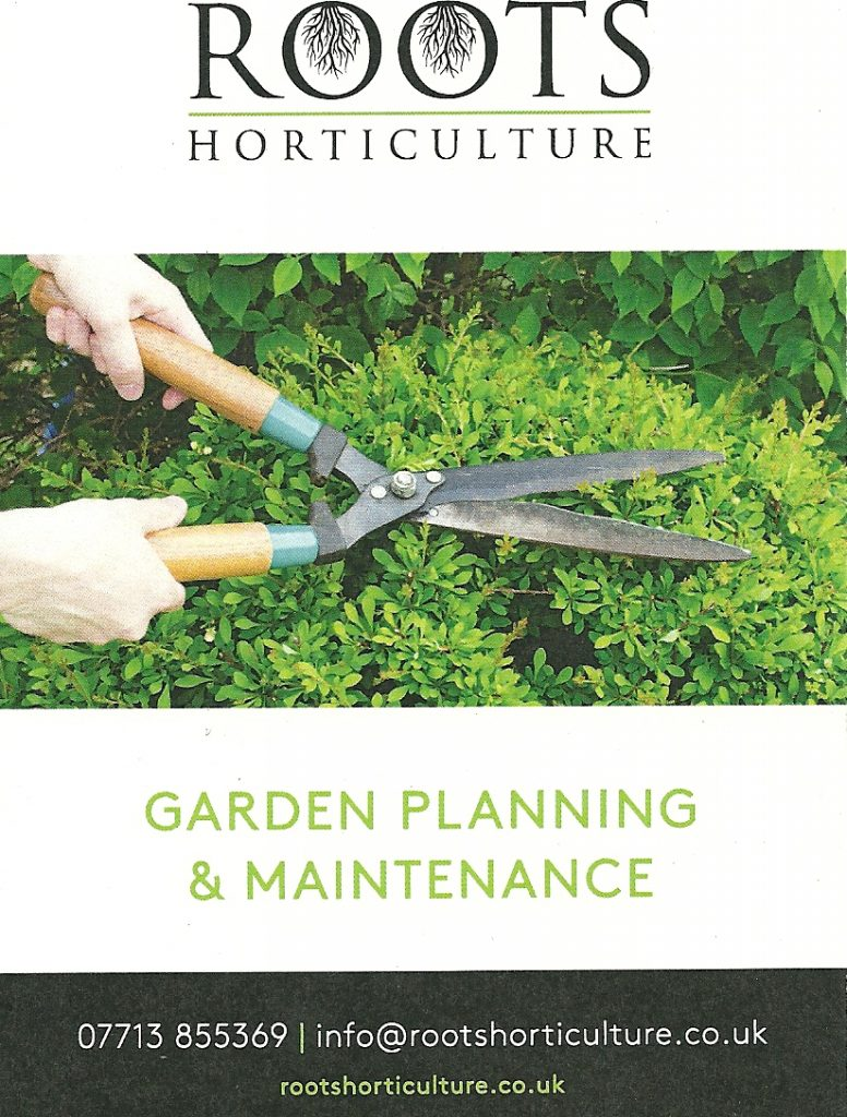Roots horticulture garden planning and maintenance d2d for Garden maintenance plan