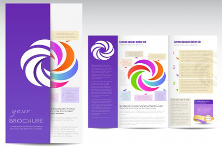 design leaflets and brochures