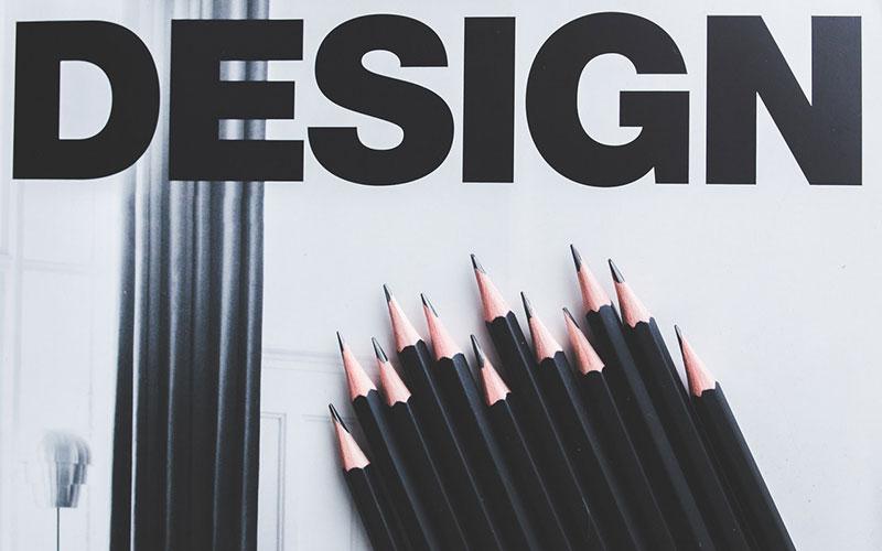 graphic leaflet design